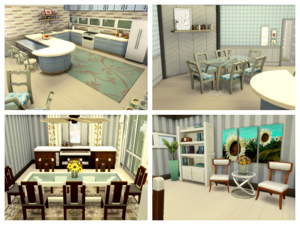 Modern Dream house by Mini Simmer at TSR image 4 Sims 4 Updates