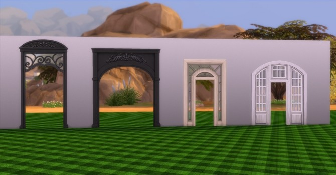 Archways by AdonisPluto at Mod The Sims image 409 670x350 Sims 4 Updates