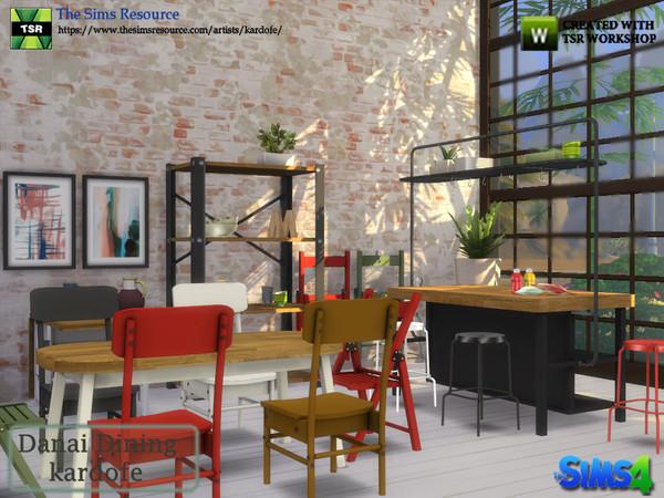 Danai Dining room by kardofe at TSR image 4116 Sims 4 Updates