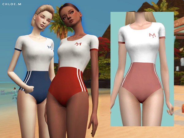 Swimsuit FM by ChloeMMM at TSR image 414 Sims 4 Updates