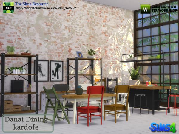 Danai Dining room by kardofe at TSR image 4214 Sims 4 Updates