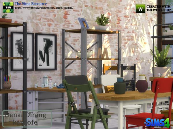 Danai Dining room by kardofe at TSR image 4312 Sims 4 Updates