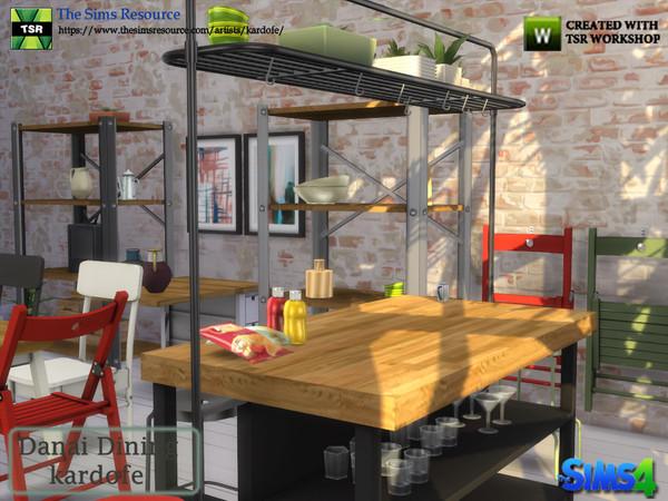 Danai Dining room by kardofe at TSR image 4412 Sims 4 Updates