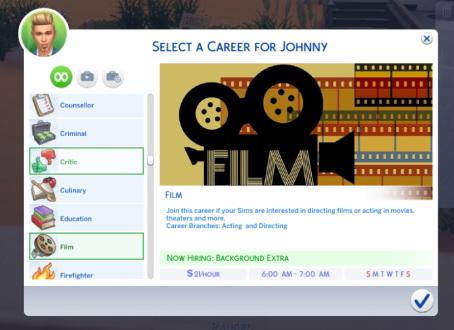 Sims 4 Sims 3 Career Remakes at Kiara's Sims 4 Blog