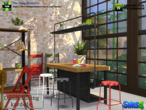 Danai Dining room by kardofe at TSR image 4512 Sims 4 Updates