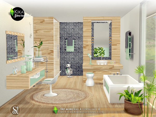Kika bathroom by SIMcredible at TSR image 4519 Sims 4 Updates