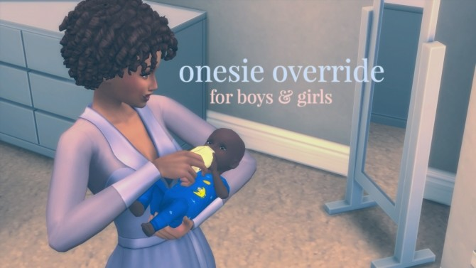Twinkle, Twinkle Onesie Recolor Override for Babies by 1gboman at Mod The Sims image 464 670x377 Sims 4 Updates