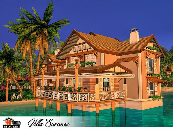 Sims 4 Villa Suranee by autaki at TSR