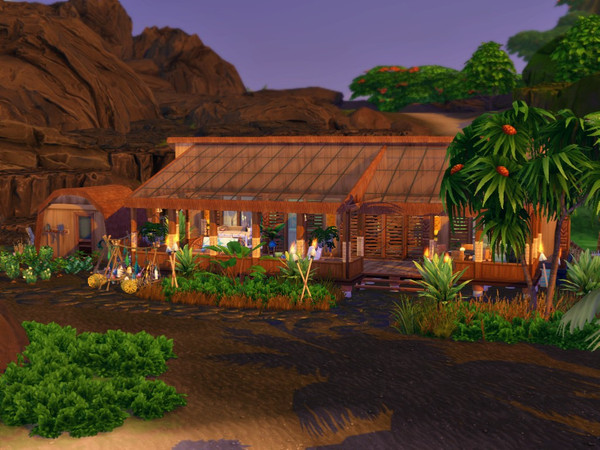 Sims 4 The Shack home by sparky at TSR
