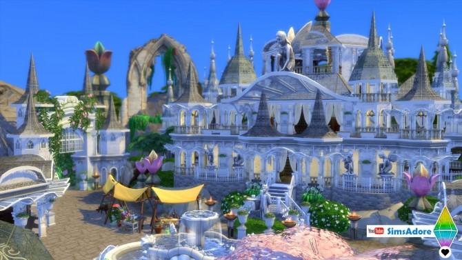 Realm Of Magic Village Medieval Elf Village By