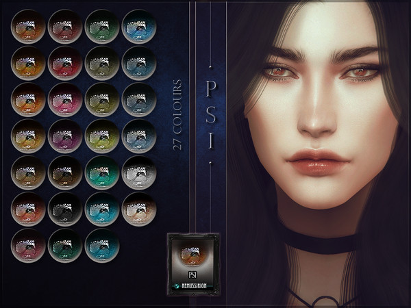 Sims 4 Psi Eyes by RemusSirion at TSR
