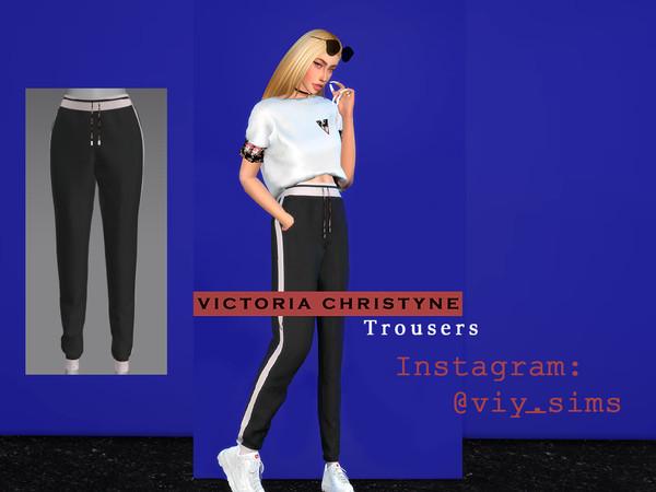 Sims 4 Trousers Viy 1 by Viy Sims at TSR