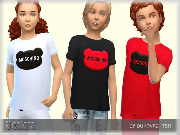 Shirt Child by bukovka at TSR image 5016 Sims 4 Updates