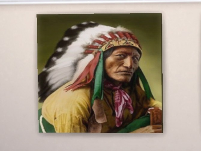 American Indian paintings at Trudie55 image 507 670x503 Sims 4 Updates