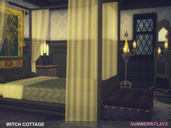 Sims 4 Witch Cottage by Summerr Plays at TSR