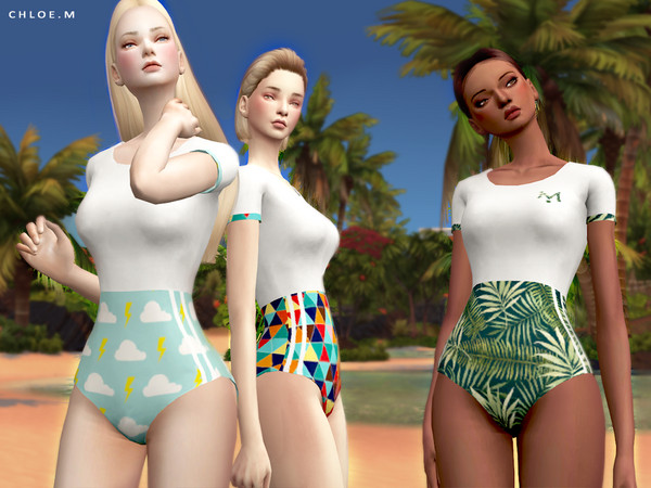 Swimsuit FM by ChloeMMM at TSR image 514 Sims 4 Updates