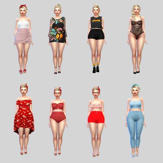 Sims 4 Vicky curvy beauty at La Gaugin
