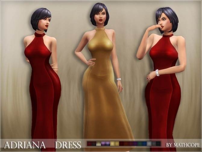 Adriana dress by Mathcope at Sims 4 Studio image 5421 670x503 Sims 4 Updates