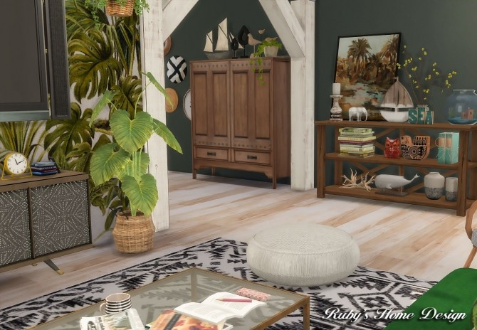 Tropical Island Home at Ruby's Home Design image 5718 670x464 Sims 4 Updates