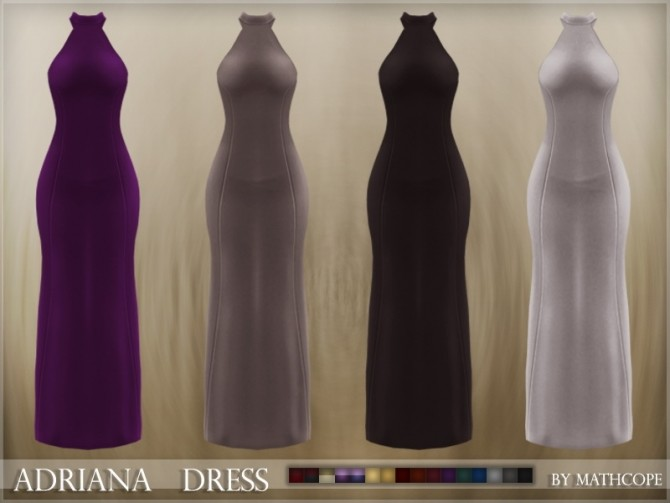 Adriana dress by Mathcope at Sims 4 Studio image 5720 670x503 Sims 4 Updates