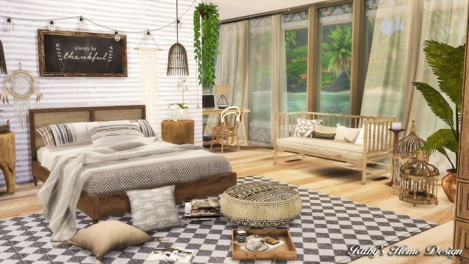 Tropical Island Home at Ruby's Home Design image 5818 670x377 Sims 4 Updates