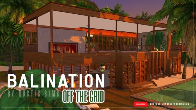 OFF THE GRID house at RUSTIC SIMS image 6113 670x376 Sims 4 Updates