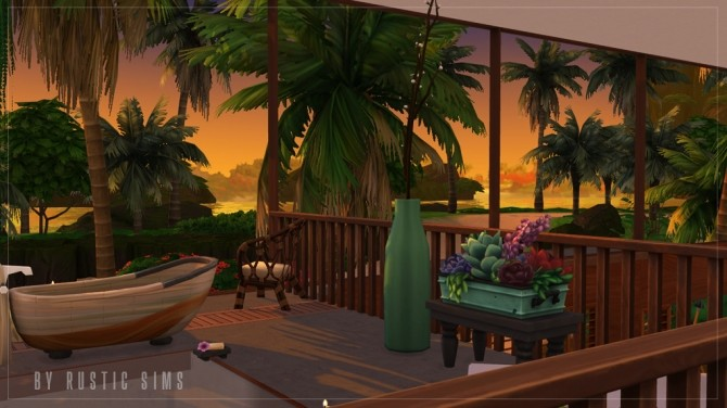 OFF THE GRID house at RUSTIC SIMS image 6211 670x376 Sims 4 Updates