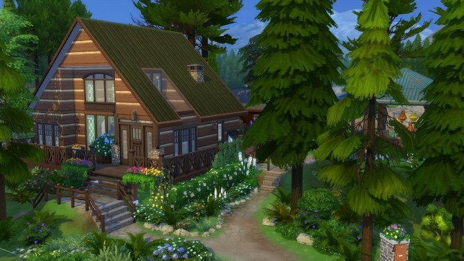 Peaceful Cottage with a Sauna by suojatti at Mod The Sims image 633 670x377 Sims 4 Updates