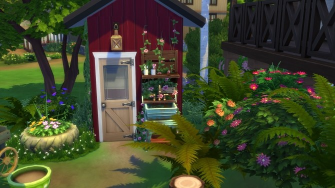 Peaceful Cottage with a Sauna by suojatti at Mod The Sims image 653 670x377 Sims 4 Updates