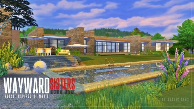 Wayward house at RUSTIC SIMS image 658 670x376 Sims 4 Updates