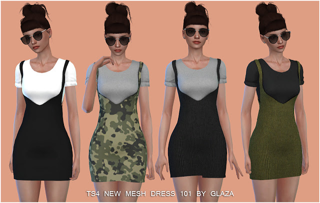 DRESS 101 at All by Glaza image 659 Sims 4 Updates