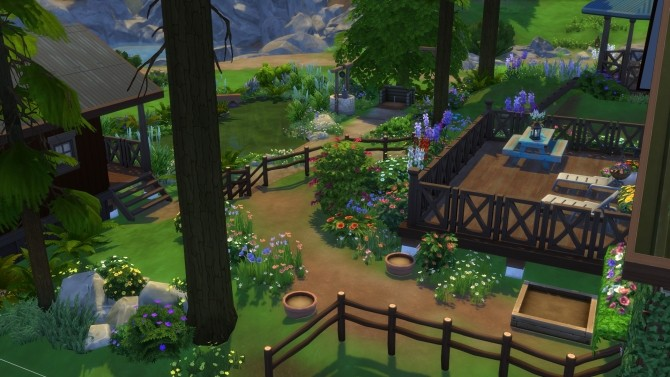 Peaceful Cottage with a Sauna by suojatti at Mod The Sims image 663 670x377 Sims 4 Updates