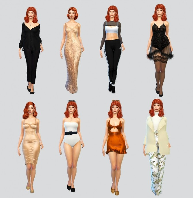 Sims 4 Jessica Chastain at La Gaugin