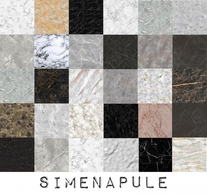 Luxury Marble Floor 30 Swatches At Simenapule » Sims 4 Updates