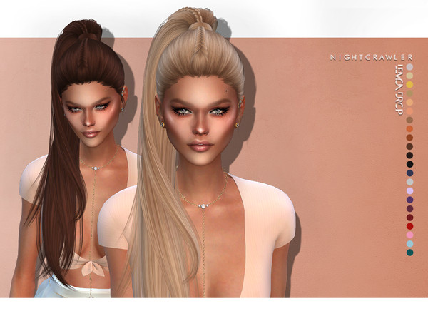 Lemon Drop hair by Nightcrawler Sims at TSR image 7020 Sims 4 Updates