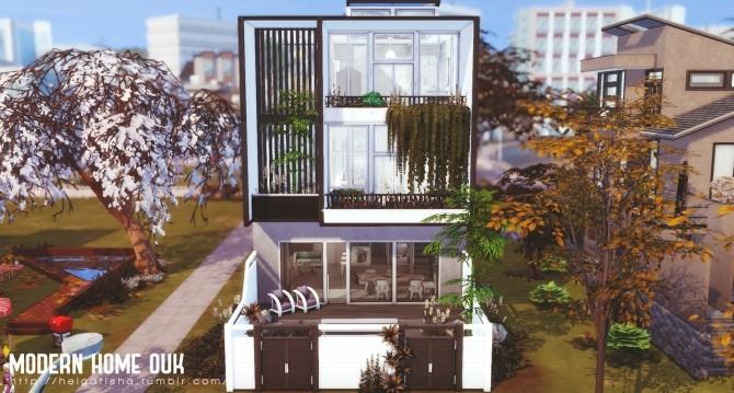 MODERN HOME OUK at Helga Tisha image 707 670x359 Sims 4 Updates