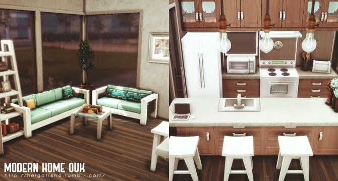 MODERN HOME OUK at Helga Tisha image 7111 670x359 Sims 4 Updates