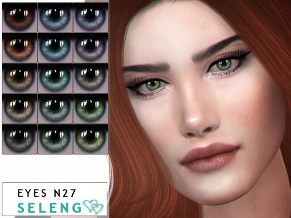 Sims 4 Eyes N27 by Seleng at TSR