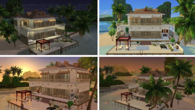 Tropical House no CC at Tatyana Name image 733 670x377 Sims 4 Updates