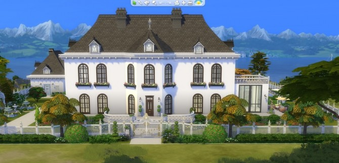 Sims 4 Mansion Kolthoven by BrigitteV at Mod The Sims