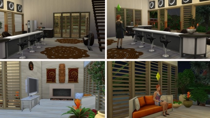 Tropical House no CC at Tatyana Name image 743 670x377 Sims 4 Updates