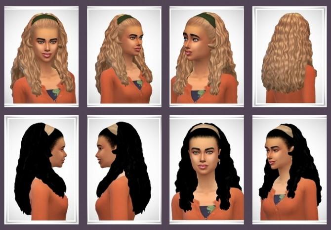 Sims 4 Curls Hair Band at Birksches Sims Blog