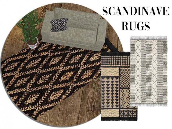 Sims 4 Scandinavian rugs at Celinaccsims