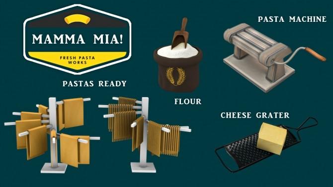 Sims 4 Mamma Mia set (P) at Leo Sims