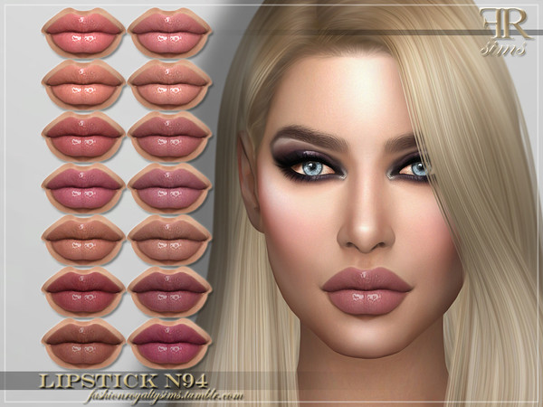 FRS Lipstick N94 by FashionRoyaltySims at TSR image 7817 Sims 4 Updates