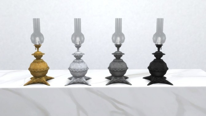 Sims 4 Traditional Gas Lamp from TS3 by TheJim07 at Mod The Sims