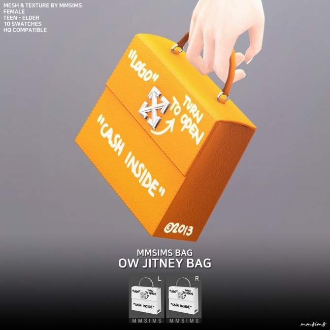 AF OW Jitney bag at MMSIMS image 7910 670x670 Sims 4 Updates