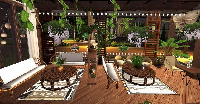 Sole mio cafe at HoangLap's Sims image 807 670x347 Sims 4 Updates