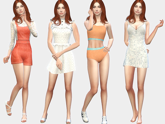 Sims 4 Kira Stanton at MSQ Sims
