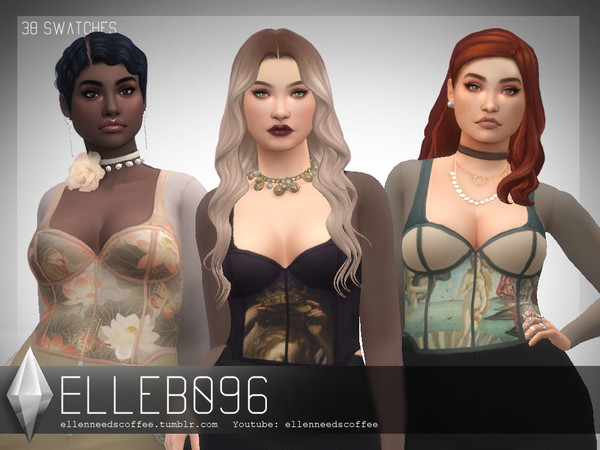 Artist Corset by Elleb096 at TSR image 840 Sims 4 Updates